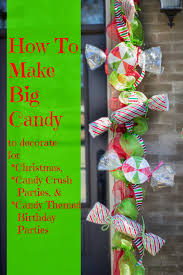 miss kopy kat make big candy decorations