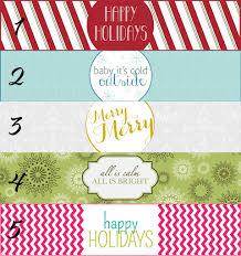 free christmas printables for your holiday table setting