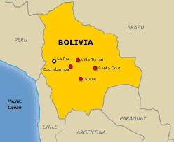 south america map bolivia bolivia the best countries of south america