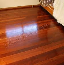 timber floor sand