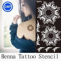 cheap henna glitter tattoo stencils free shipping henna glitter