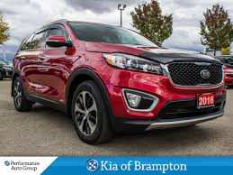suv kia 2016 used 2016 kia sorento for sale brampton on