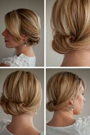 easy hairstyles for short hair to do at home worldbizdata com