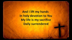 holy devotion redeeming king you are the lord exalted above the most high the