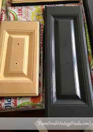 Removing Thermofoil From Cabinets Painted Laminate Kitchen Cabinets Farm Fresh Vintage Finds