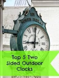 Pottery Barn Outdoor Clock Best 25 Outdoor Clock Ideas On Pinterest Victorian Outdoor