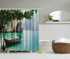 jungle island cave lagoon fishing boat tropical waters boat