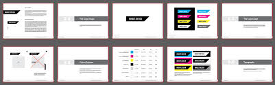 brand presentation template free brand guidelines template for
