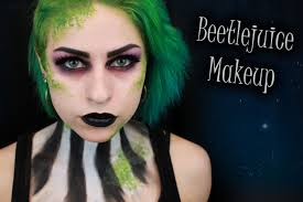Youtube Halloween Makeup Tutorials by Glam Beetlejuice Halloween Makeup Tutorial Youtube