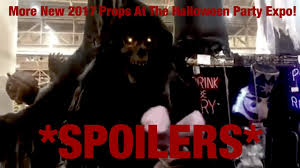 Halloween Express Nashville Tennessee by More New 2017 Props At The Halloween Party Expo Spoilers Youtube