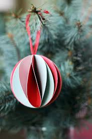 50 diy paper christmas ornaments to create with the kids tonight