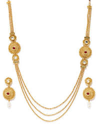 gold pendants necklaces exporter from jaipur