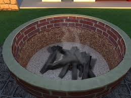 Building A Firepit In Backyard Decorating Diy Firepit For Around 500 Album On Imgur And With