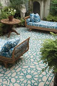 Blue Outdoor Rugs Blue And White Outdoor Rug Ggregorio