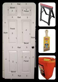 Painting 6 Panel Interior Doors Best 25 Diy 6 Panel Doors Ideas On Pinterest Refurbished Door