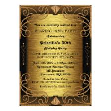 gatsby invitations 1920 s great gatsby deco birthday invitations retro invites