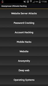 hacker tool apk anonymous ultimate hacking 1 0 apk for android aptoide