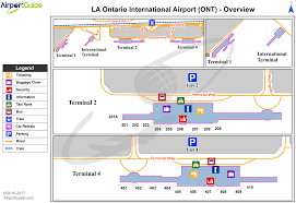 O Hare Terminal Map Ontario Airport Map My Blog