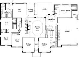 ranch home floor plans 4 bedroom charming 4 bedroom ranch style house plans cr main floor plan