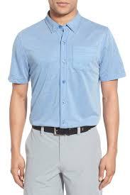 travis mathew potter short sleeve wrinkle resistant sport shirt