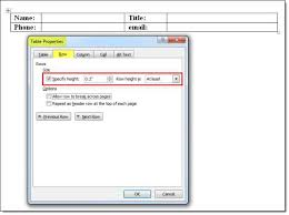 how to create nested tables in word templates conga support