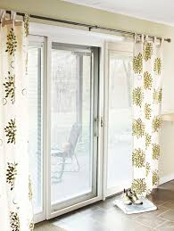 Curtains For Sliding Door What Window Treatment For Patio Sliding Door Drape Panel Curtains