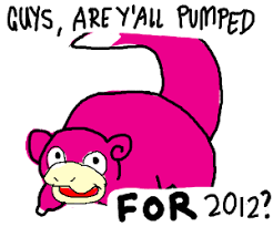 Slow Poke Meme - meme celebrates the new year