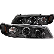 97 honda accord lights anzo usa honda accord 94 97 projector headlights black w halo1pc