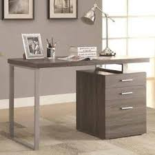 Computer Desk With File Cabinet Contemporary Office Computer Writing Desk File Cabinet Reversible