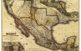 mexico map 1800 historical map republic 1849 germans
