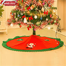 tree skirts 1 pieces 90cm christmas tree skirt base cover decor blanket cloth