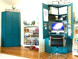 Computer Armoire Desk Cabinet Modern Office Armoire Office Furniture Best Family Room Computer