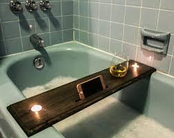 Bathtub Wine And Book Holder Bathtub Tray Etsy