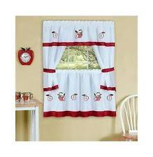 Apple Curtains For Kitchen by Apple Curtains Ebay
