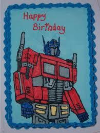 optimus prime birthday optimus prime cake i ve just finished my husband s birthday cake