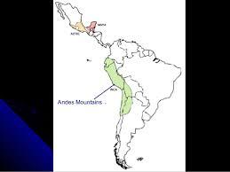 aztec mayan inca map aztec inca
