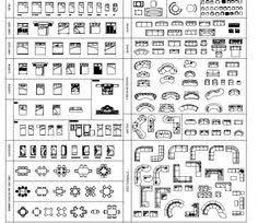 Autocad Kitchen Design by Interior Design 2d Blocks Download These Cad Blocks And