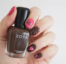valentine u0027s day nail art mix and match nail that accent