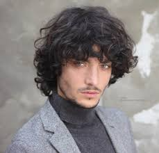 mens curly long hairstyles fade haircut