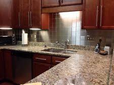 custom cut stainless steel backsplash stainless steel backsplash home u0026 garden ebay