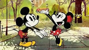 croissant triomphe mickey mouse friends disney video