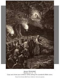 bible story pictures jesus in the garden of gethsemane the