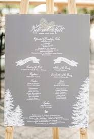 winter wedding programs winter wedding ideas from real weddings brides