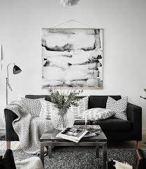 black and white interiors simple and cozy via cocolapinedesign com it u0027s all about