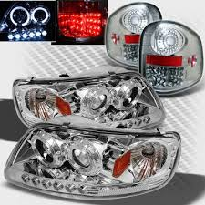 2002 ford f150 tail lights ford f150 flareside 1997 2003 chrome projector headlights and led