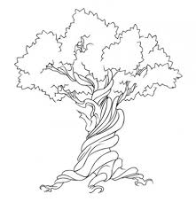 twisted tree designs 60 tree tattoos that can paint your roots