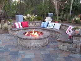 Stone Firepit by Firepit Patio Crafts Home
