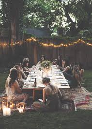 nashville trip with free people a magical backyard dinner