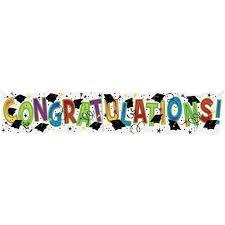 congratulations graduation banner congratulations graduation banner walmart