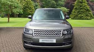 land rover voque used land rover range rover vogue tdv6 silver fh17ylg